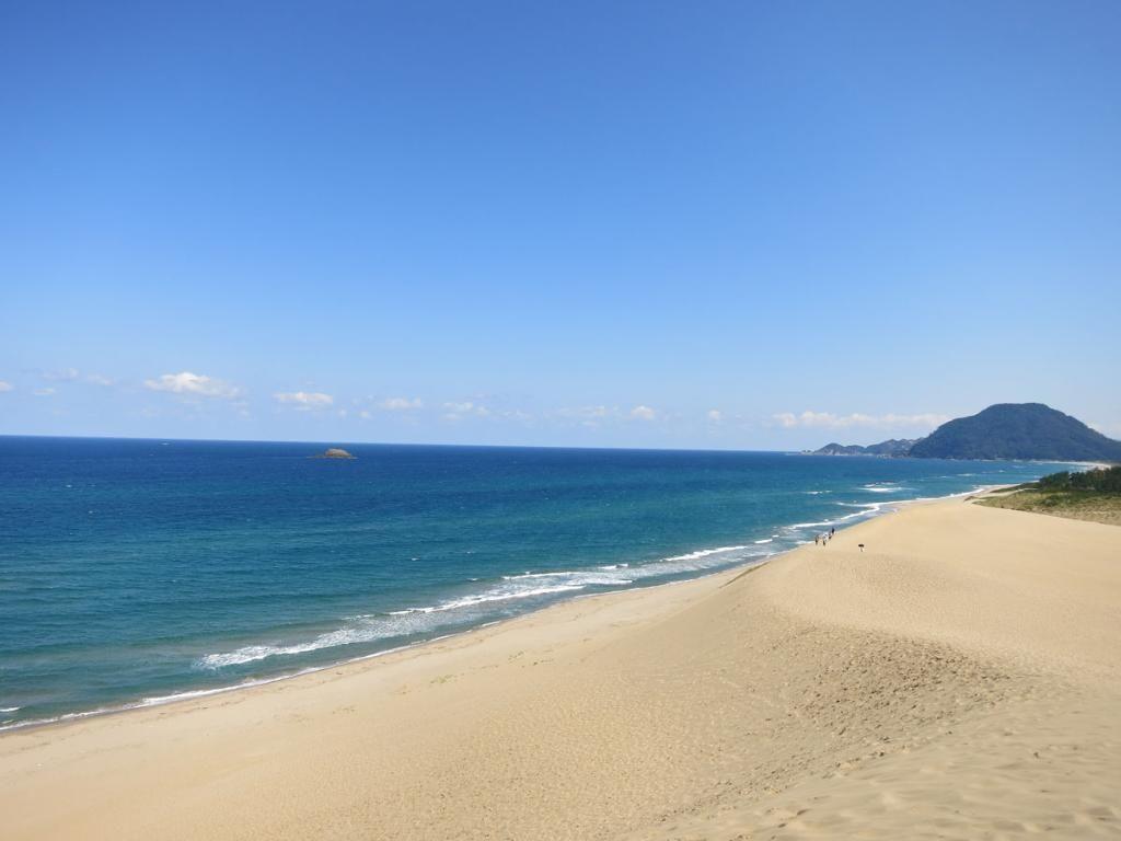 「鳥取砂丘海水浴場 鳥取県」の画像検索結果